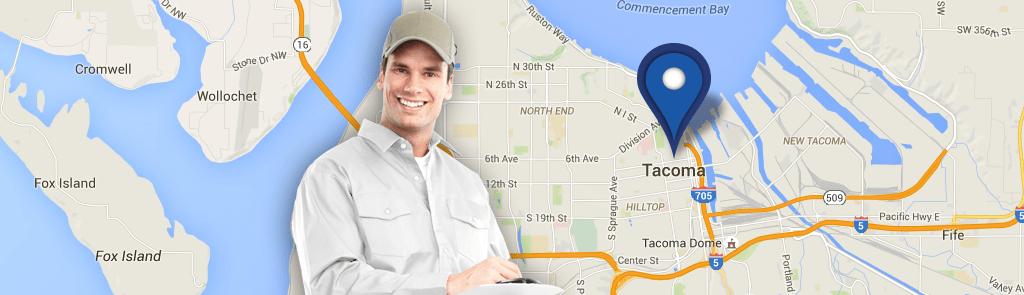 Tacoma service area